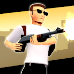 Crime Shooter: 3d Action Free Game Icon