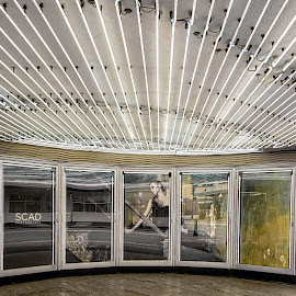 Welcome by Richard Michael Lingo - Buildings & Architecture Other Exteriors ( buildings, exterior, savannah, lights, architecture )