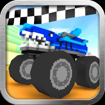 Blocky Monster Truck Racing