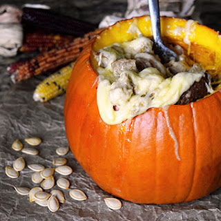 Stuffed Parrano Pumpkin