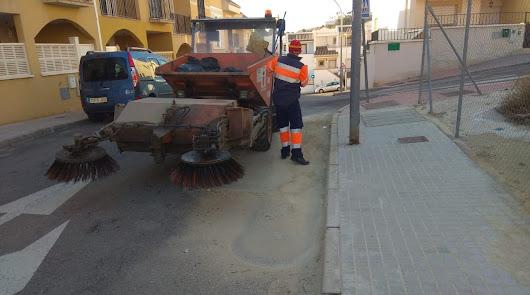 El Ayuntamiento de Huércal abre una bolsa de empleo para la limpieza viaria