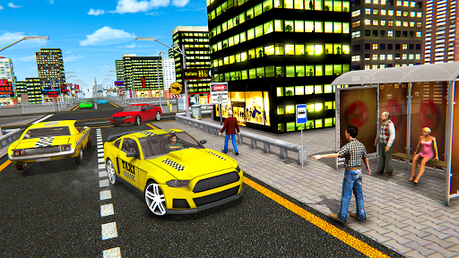 Extreme Taxi Crazy Driver Simulator - Taxi Game 1.0 screenshots 1