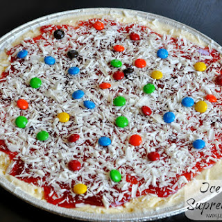 The Ultimate in No Bake Desserts – Ice Cream Pizza Recipe