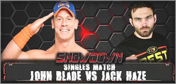 VSJohn Blade vs Jack Haze