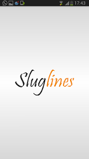 Sluglines- screenshot thumbnail