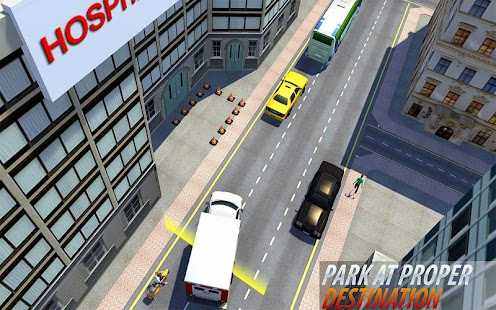 Resort parking Driving skills Simulator 2018 - náhled