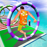 Water Park Uphill Stuntman Rush: Water Park Racing icon