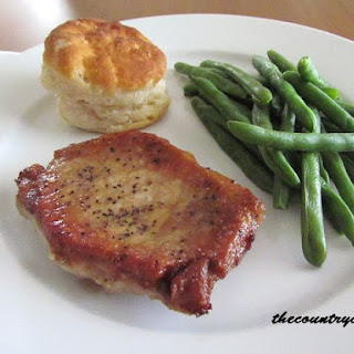 Pan Fried Pork Chops.
