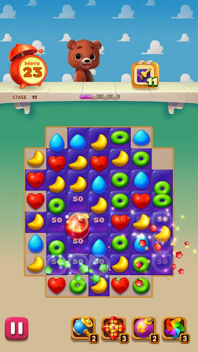 Toy Bear Sweet POP : Match 3 Puzzle apkpoly screenshots 15