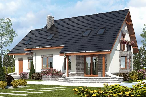 projekt Dom Dla Ciebie 2 w2 z garażem 1-st. A