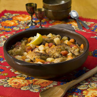 Slow Cooker Moroccan-Style Chicken Potato Stew.