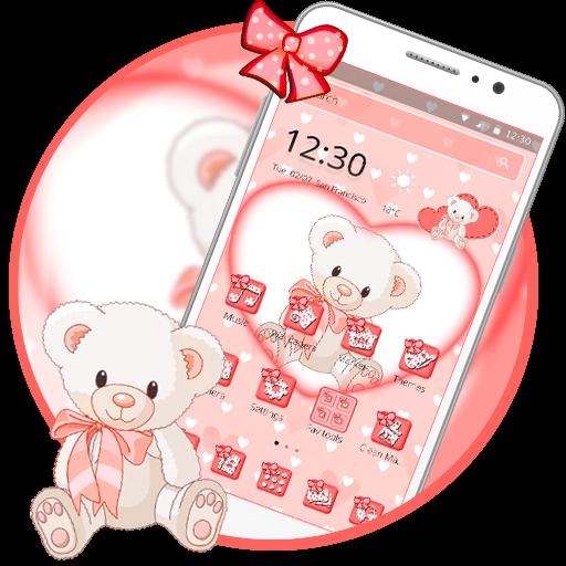 App Insights: Pink Teddy Bear Love Theme | Apptopia