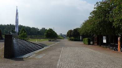 Photo: Brunnenkeil; Abschluss der Wasserspiele