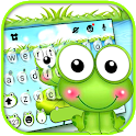 Cute Bullfrog Keyboard Theme icon