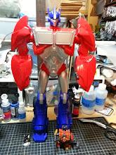 Photo: Optimus Prime! Soon to be a Chaos Reaver Titan :P