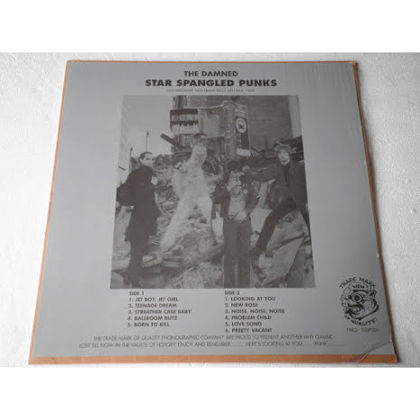 LP - The Damned - Star Sprangled Punks