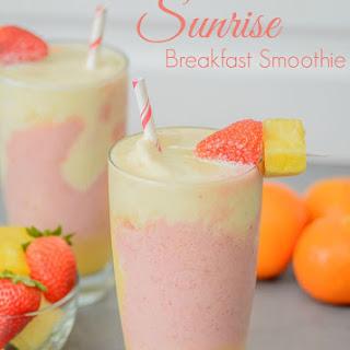 Sunrise Breakfast Smoothie