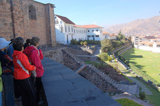 Photo: The first part of Inti Raymi festival will take place on these old Inca walls and the grounds below.