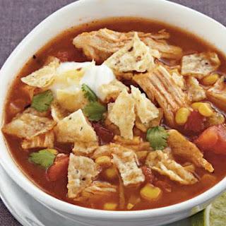 Slow-Cooker Chicken Tortilla Soup.