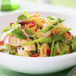 Thai Seafood and Rice Noodle Salad