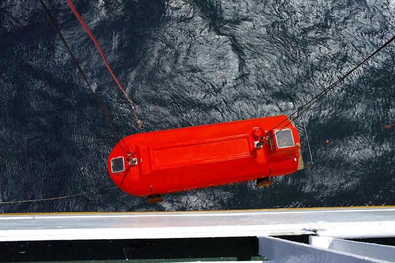 scialuppa di salvataggio di manolina