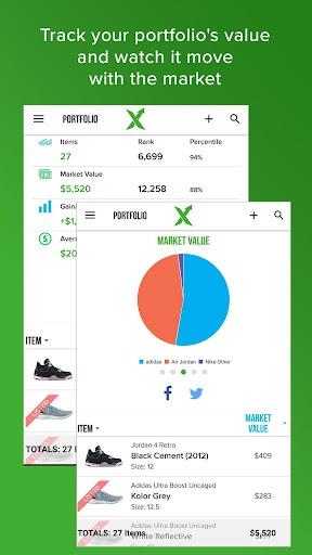 StockX - Buy & Sell Sneakers, Watches and Handbags Appar (APK) gratis nedladdning för Android/PC/Windows screenshot