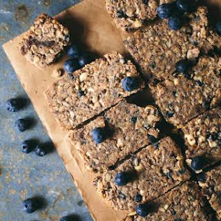 Baked Blueberry Granola Bar.