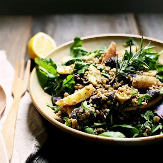 Potato Salad with Arugula, Lentils, & Rosemary
