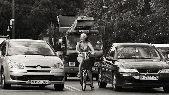 Verónika y su bici