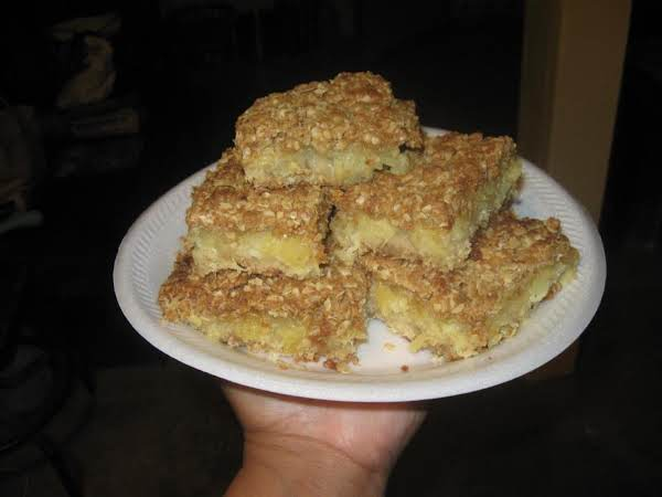 Pineapple Dessert Bars Recipe