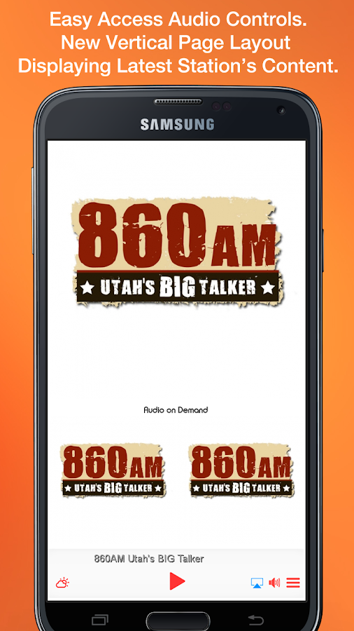 860AM Utah's BIG Talker- screenshot