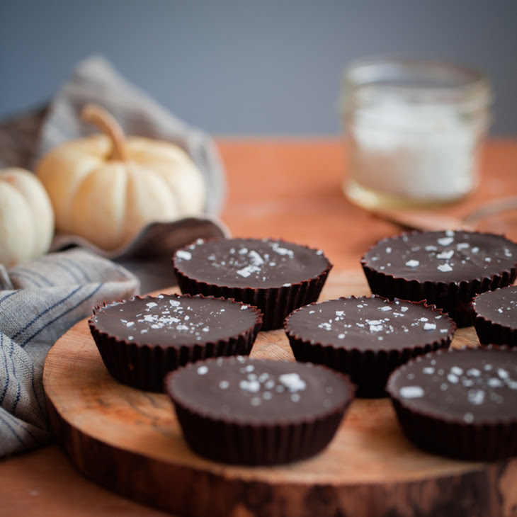 Homemade Spiced Almond Butter Chocolate Cups