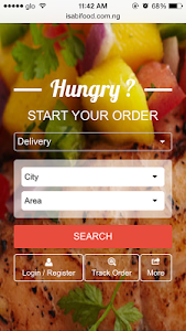 iSabiFood - Food Ordering screenshot 1