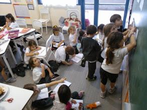 Photo: Primer grado en acción...