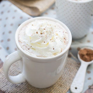 3-Ingredient Microwave Hot Cocoa {refined sugar free}.