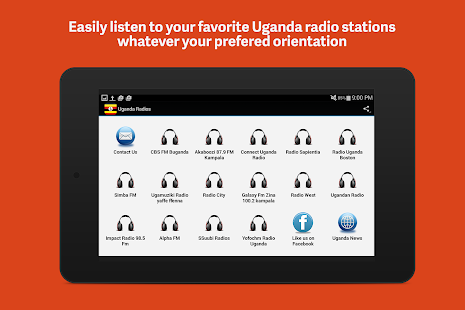 Uganda Radio Free- screenshot thumbnail