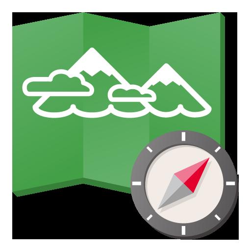 ヤマレコMAP - 登山・ハイキング用GPS地図アプリ 運動 App LOGO-APP開箱王