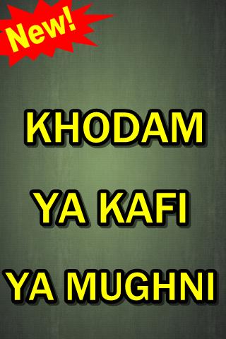 Download Khodam Ya Kafi Ya Mughni Terlengkap Google Play