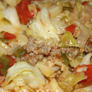 Smothered Cabbage with Tomato.