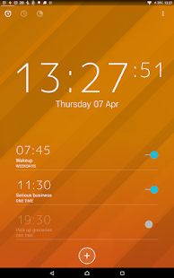 Next Alarm Clock- screenshot thumbnail