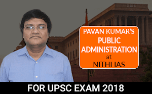 Pavan Kumar's Public Administration Live Projector Classes from Hyderabad Learning Center for UPSC Mains