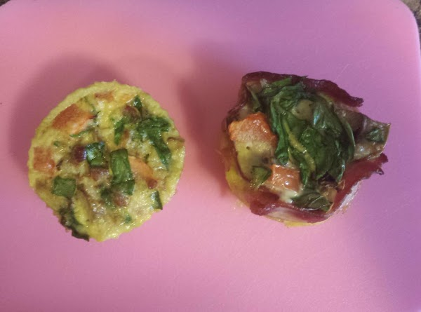 Omelette Cups Recipe