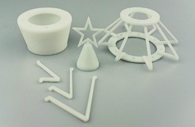 10 новогодних украшений на 3d принтере - 3Dprint.soften.com.ua