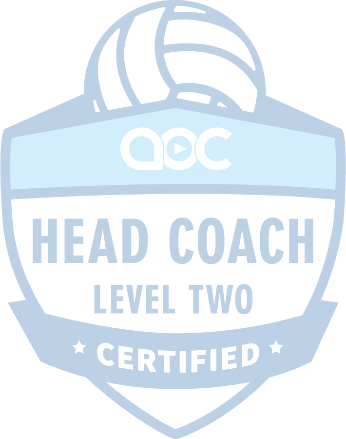 Volleyball Head Coach Certification Level 2