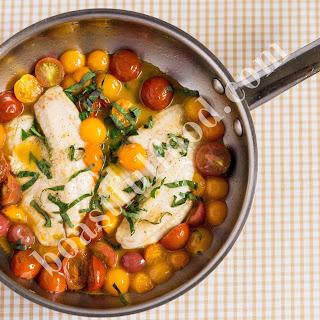 Tomato Basil Tilapia.