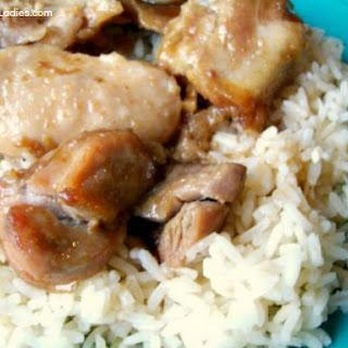Crock-Pot Easy Garlic Brown Sugar Chicken.