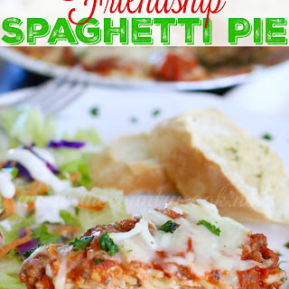 Friendship Spaghetti Pie & GIVEAWAY