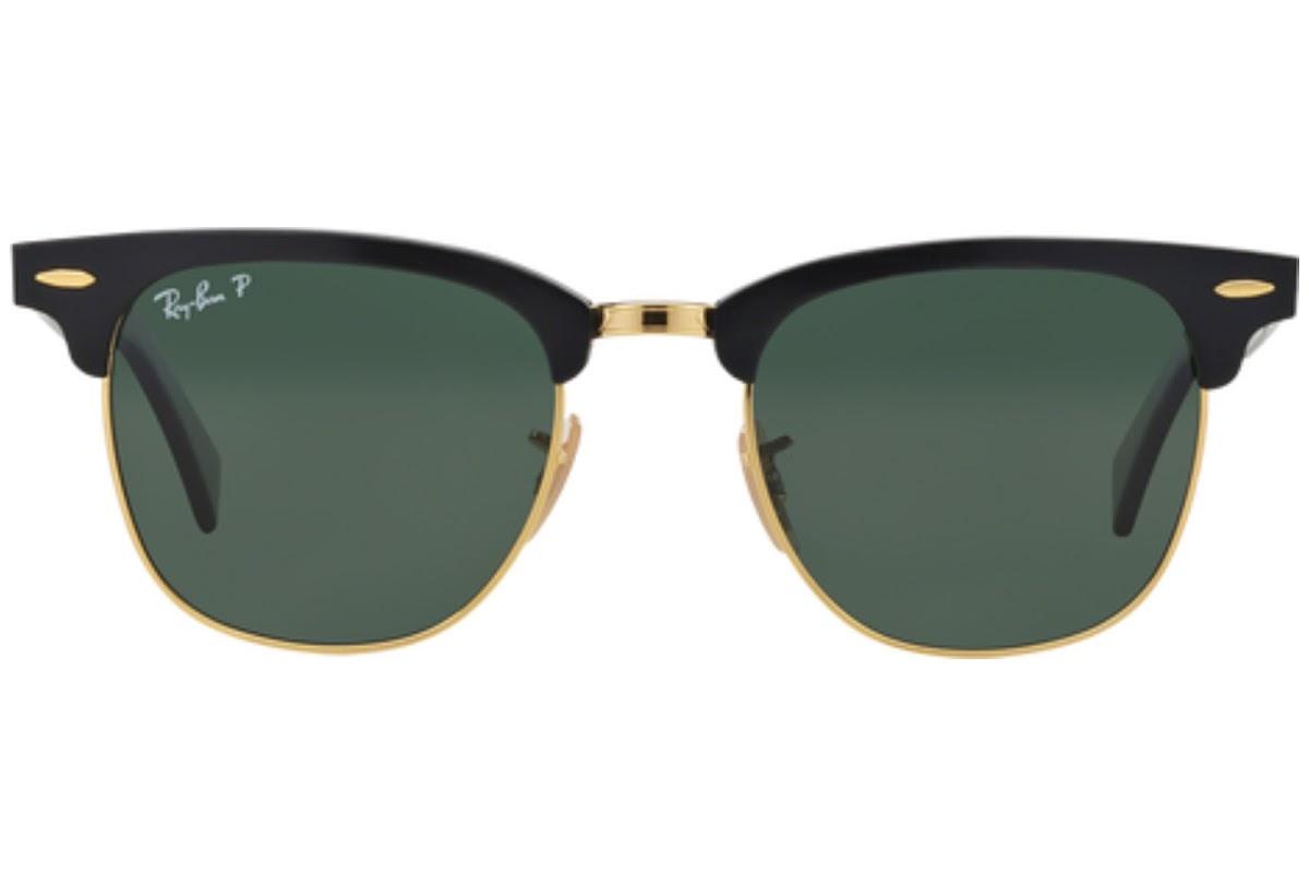 625011defc Buy Ray-Ban Clubmaster Aluminum RB3507 C51 136 N5 Sunglasses