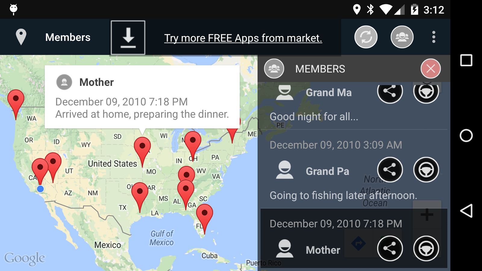 Family Finder- screenshot