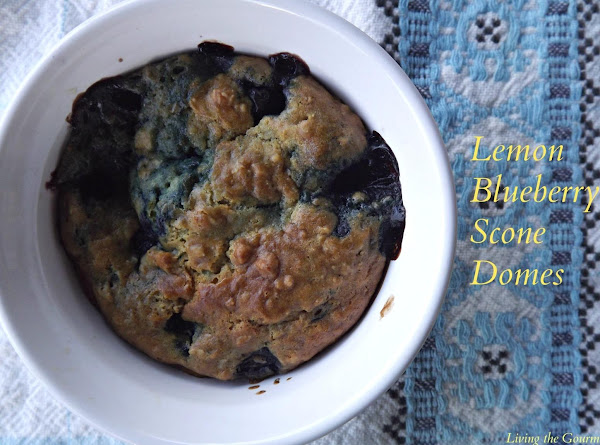 Lemon Blueberry Scone Domes Recipe